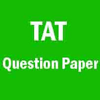 TAT for Secondary (English) Question Paper (29-07-2018)