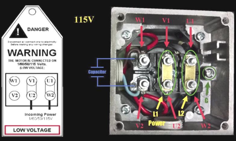 Charmant Verdrahtung Motor 3 Phase Galerie - Elektrische ...