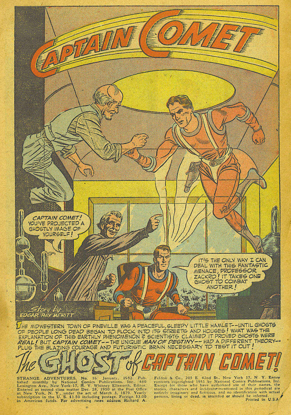 Strange Adventures (1950) issue 16 - Page 3