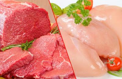 أسعار اللحوم والدواجن اليوم الاثنين 23-4-2018 بالأسواق المصرية
