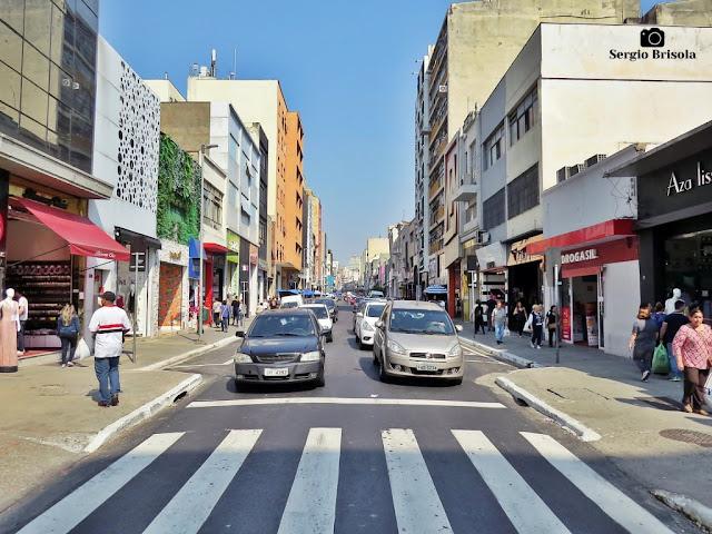 Vista de trecho da Rua José Paulino - Bom Retiro - São Paulo