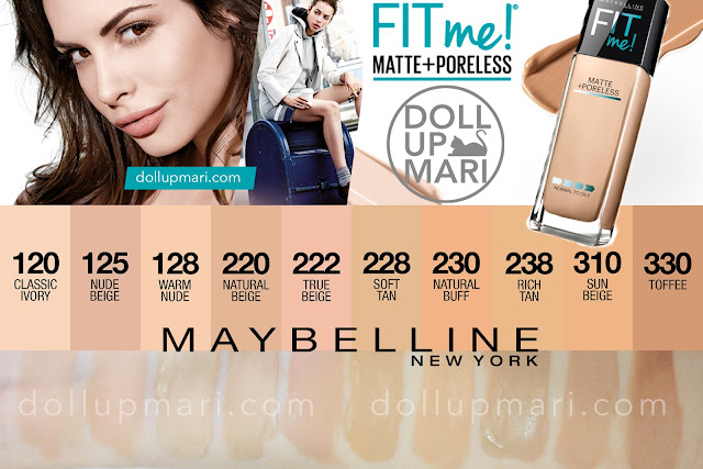 Maybelline Fit Me Matte Poreless Foundation Review And