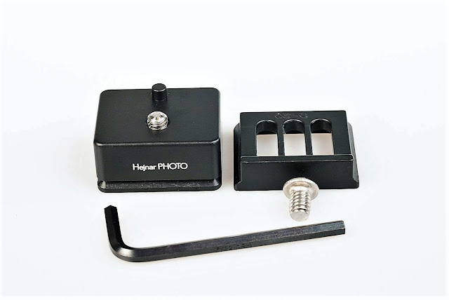 Hejnar D043 and D020 QR plates set with tools