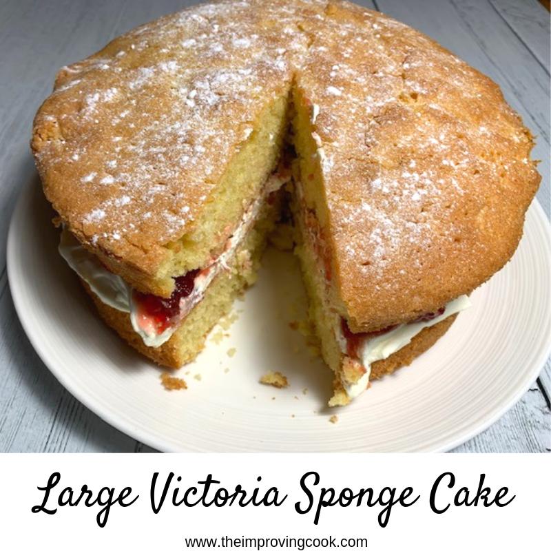 slimming victoria sponge