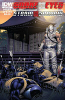 Snake Eyes and Storm Shadow #21 Cover