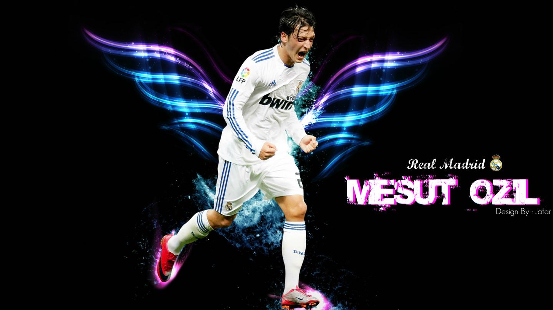 Wall Hit: Mesut Ozil