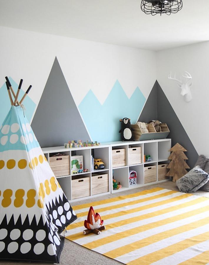 Los mejores diy para decorar con formas de montaña