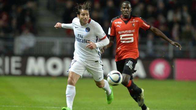 Maxwell PSG/Doucouré Stade Rennais, Ligue 1