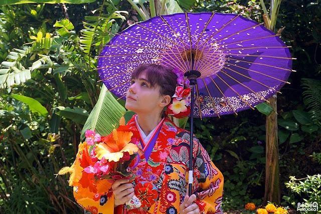 Okinawa Kimono Walk