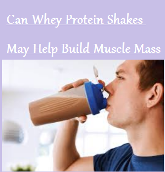 Can Whey Protein Shakes May Help Build Muscle