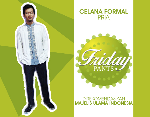 Celana Formal Pria Friday Pants