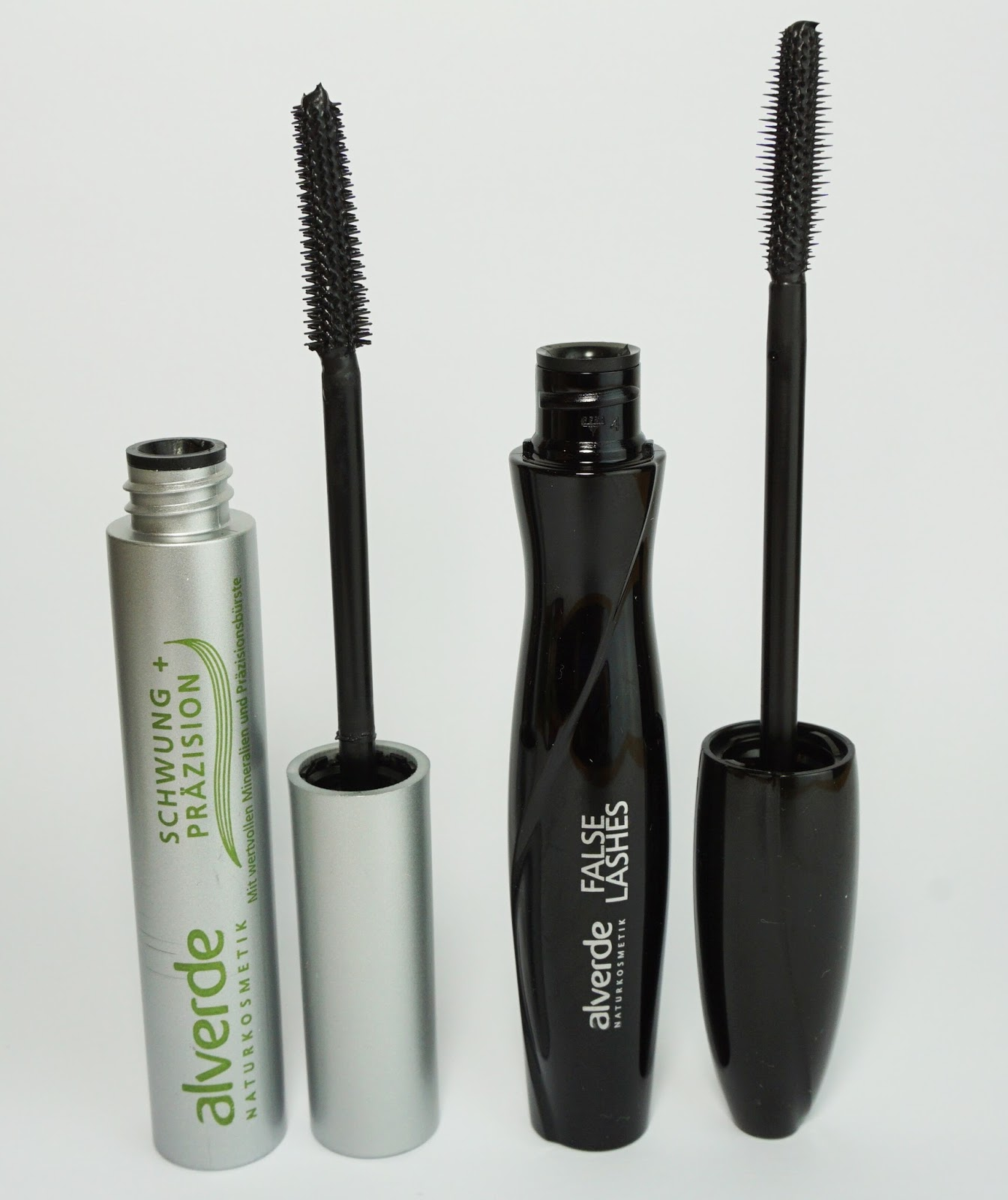 Alverde - Mascara Schwung + Präzision & False Lashes