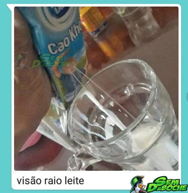 VISÃO DE RAIO LEITE