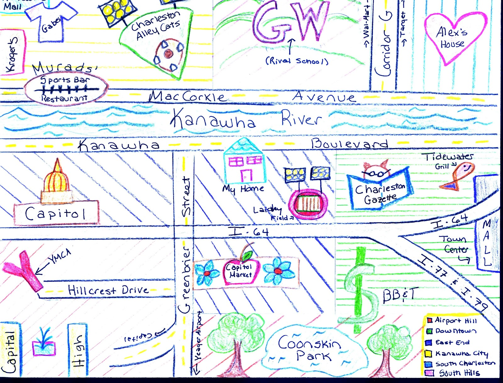 Draw And Label A Map Of Maycomb Easy