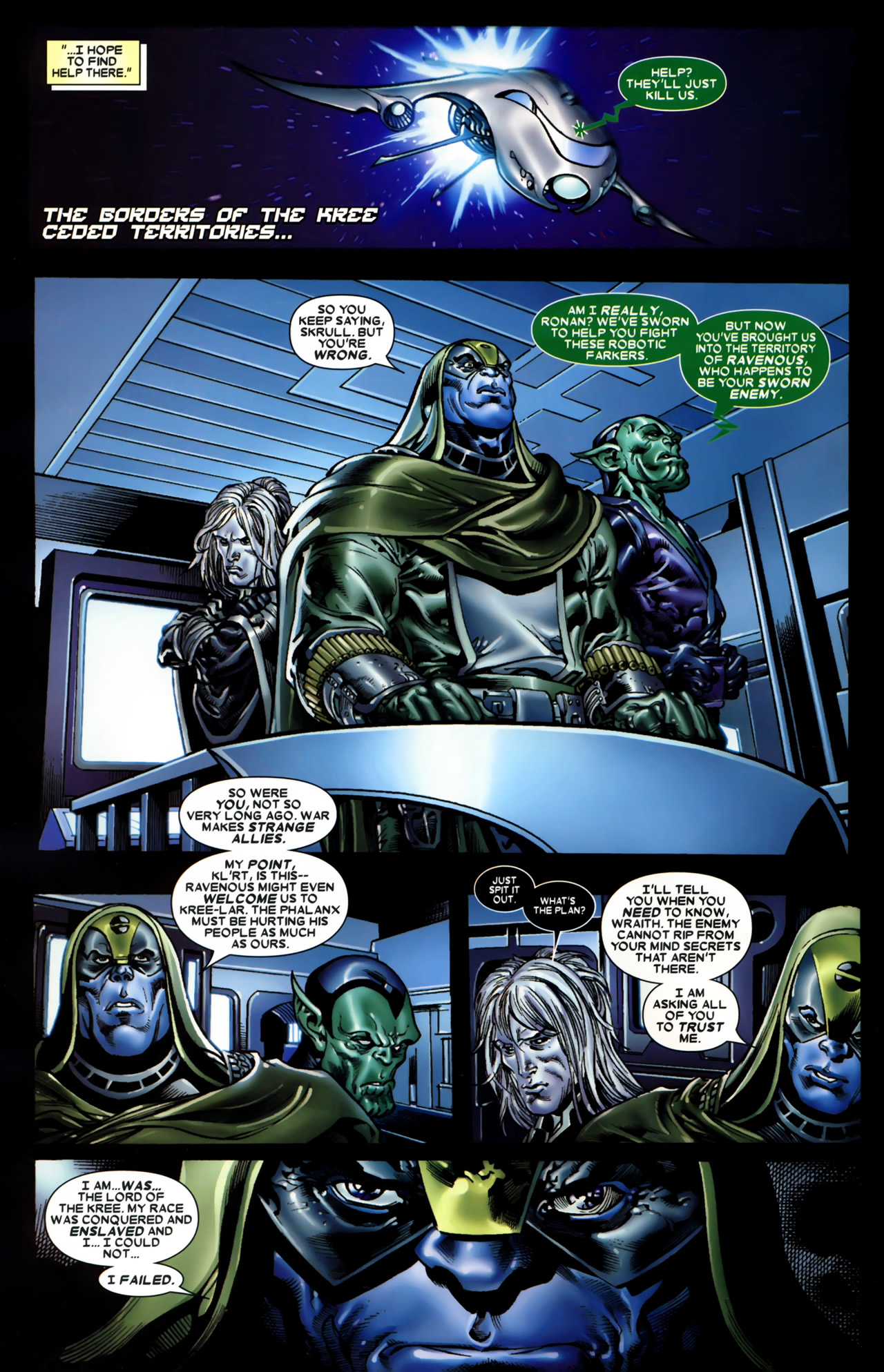 Read online Annihilation: Conquest comic -  Issue #1 - 21