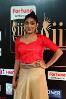 Samyukta Hamod in Red Crop top Brown Skirt at IIFA Utsavam Awards 011.JPG