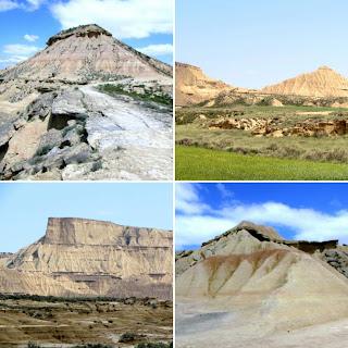 Bardenas Reales; Bardenas Blancas; Bardenas; Navarra; Nafarroa