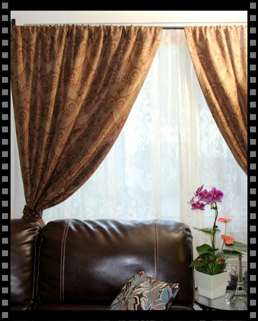 diy curtain tie backs. Black Bedroom Furniture Sets. Home Design Ideas