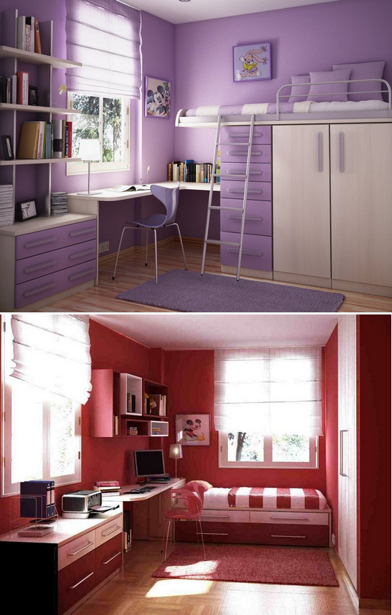 dekorasi kamar tidur minimalis