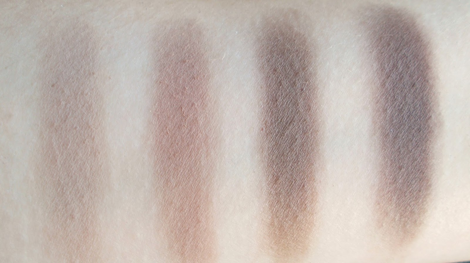 Anastasia Beverly Hills single eyeshadows review stone warm taupe ash brown smoke
