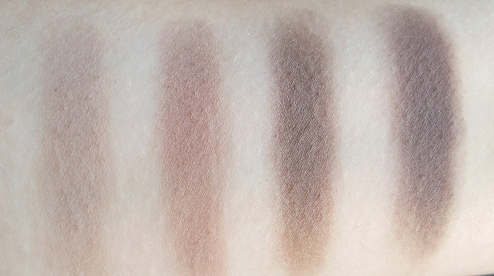 Anastasia Beverly Hills single eyeshadows review stone warm taupe ash brown smoke