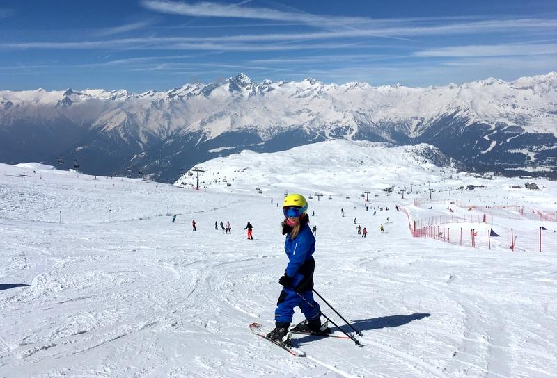 val di sole narty z dziećmi