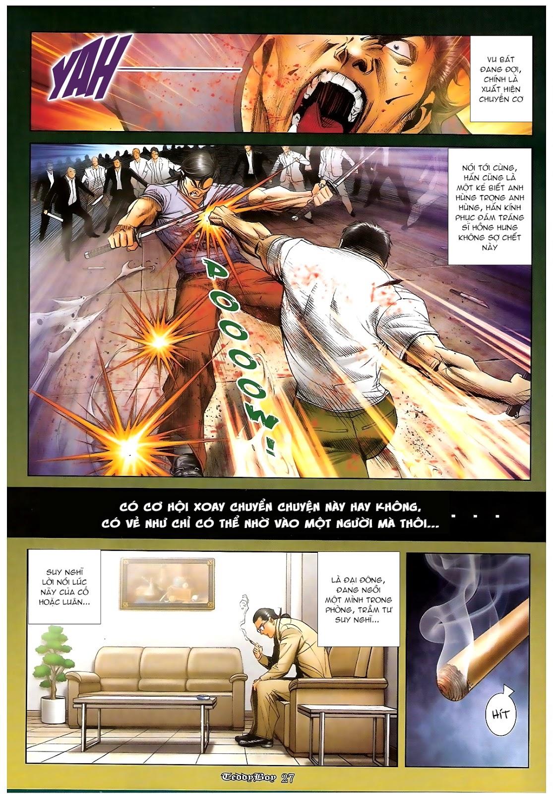Người Trong Giang Hồ - Chapter 1230: Người thứ tư lên đường - Pic 22
