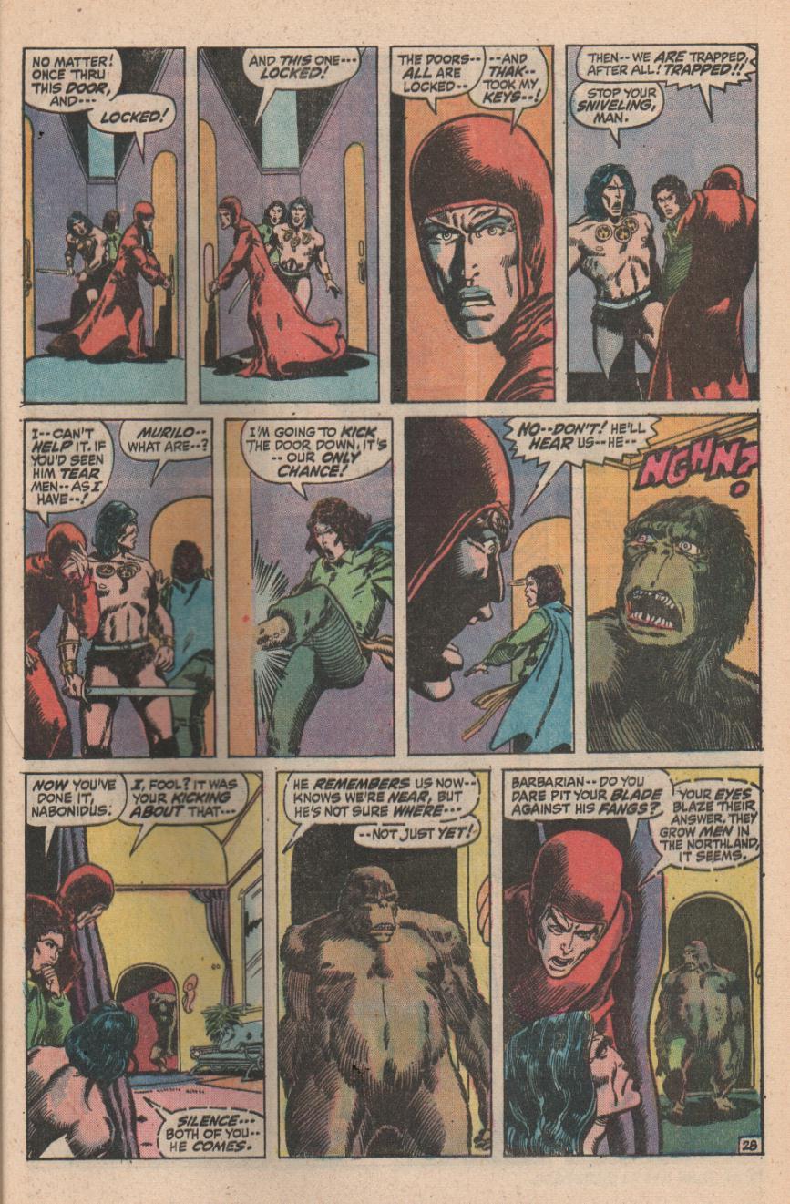 Conan the Barbarian (1970) Issue #11 #23 - English 39