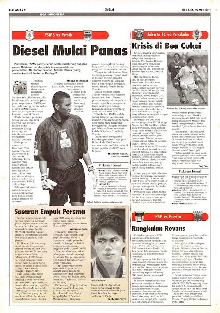 LIGA INDONESIA: PSMS VS PERSIB DIESEL MULAI PANAS