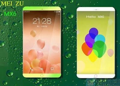 harga Meizu MX6 kapasitas RAM 4GB
