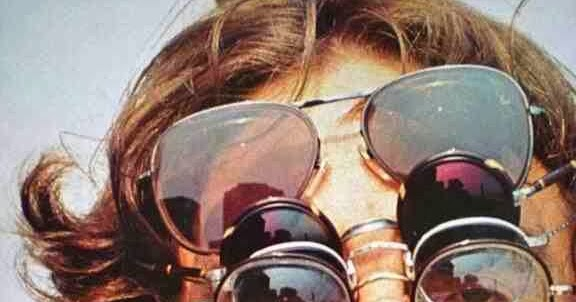 4f2b571a0 John Lennon Wearing Five Pairs of Glasses | BlueisKewl