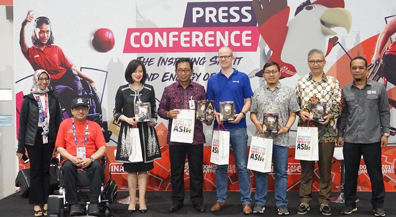 Bank BRI Dukung Penuh Asian Para Games 2018