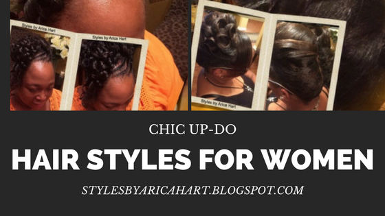 hairstyles for black women, Styles by Arica Hart