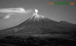 The legend and Story of Mount Semeru