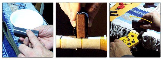 Coronado de Trastes: Aplicar Lijado a los Trastes de la Guitarra