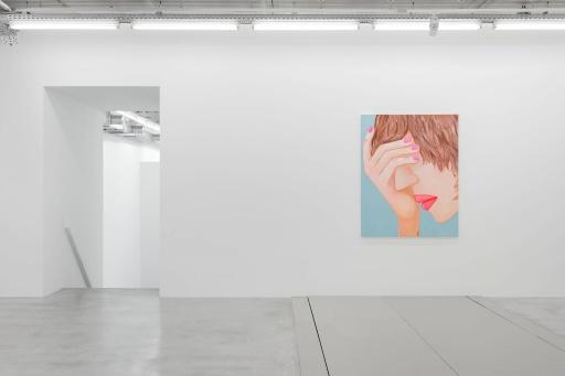 Almine Rech Gallery - Brian Calvin - States Installation View 1