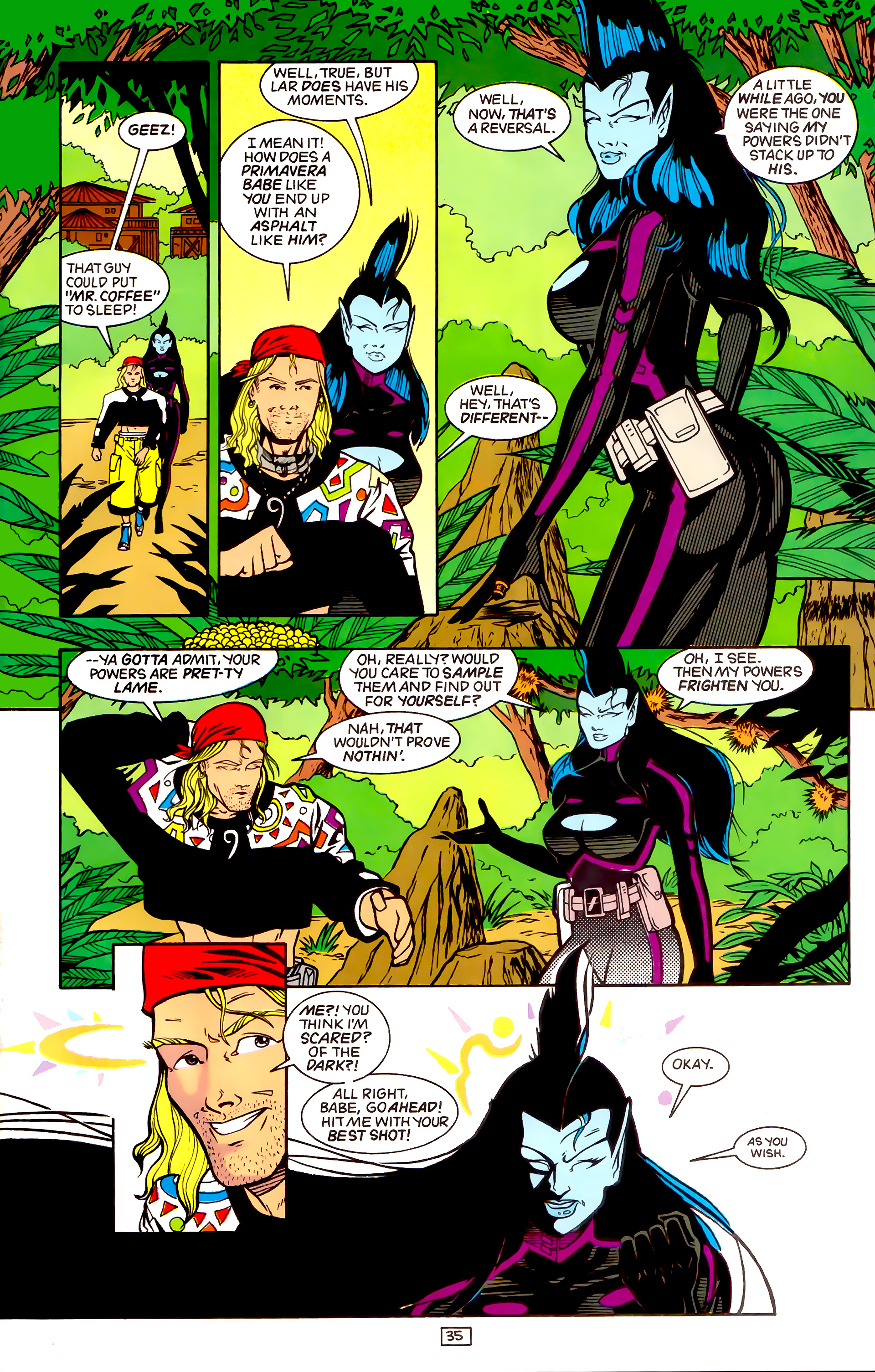 Legion of Super-Heroes (1989) _Annual_4 Page 35