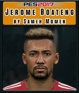 PES 2017 Faces Jérôme Boateng by Sameh Momen