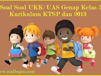Kumpulan Soal UKK/ UAS Kelas 3 Semester 2 Terbaru