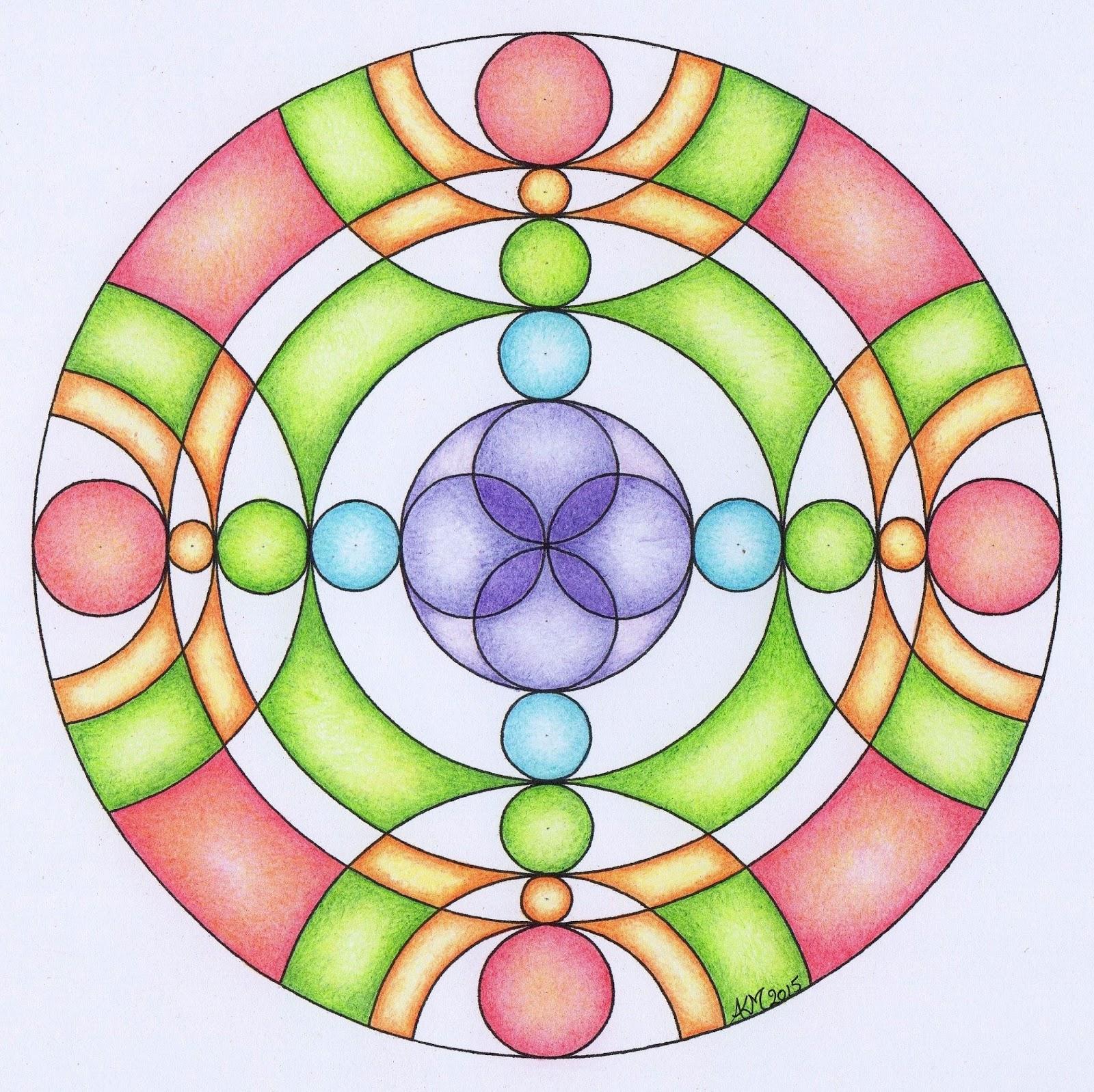Mandala atelier inspiratie workshop 10 symbolen de cirkel 2 - Hoe om kleuren te maken ...