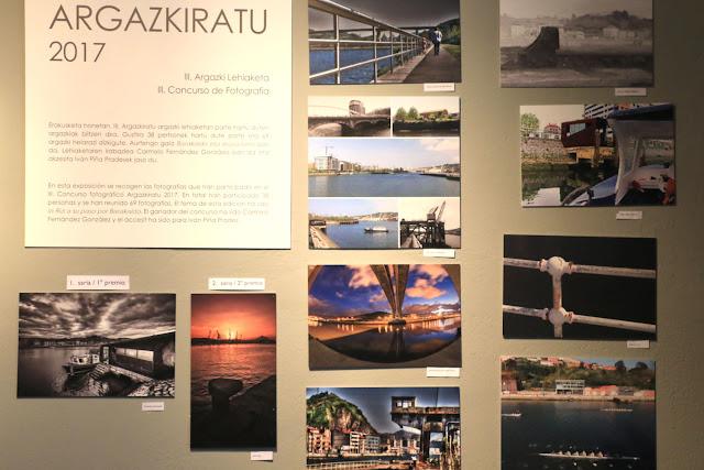 Exposición de las obras del concurso de fotografía Argazkiratu