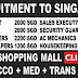 RECRUITMENT TO SHOPPING MALL IN SINGAPORE