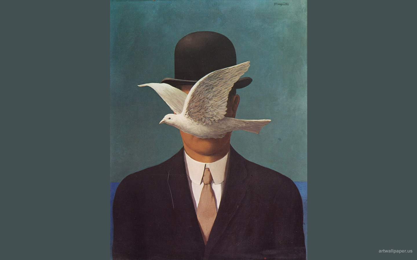 3d Cool Wallpaper Hd For Mobile Magritte Wallpapers 500 Collection Hd Wallpaper