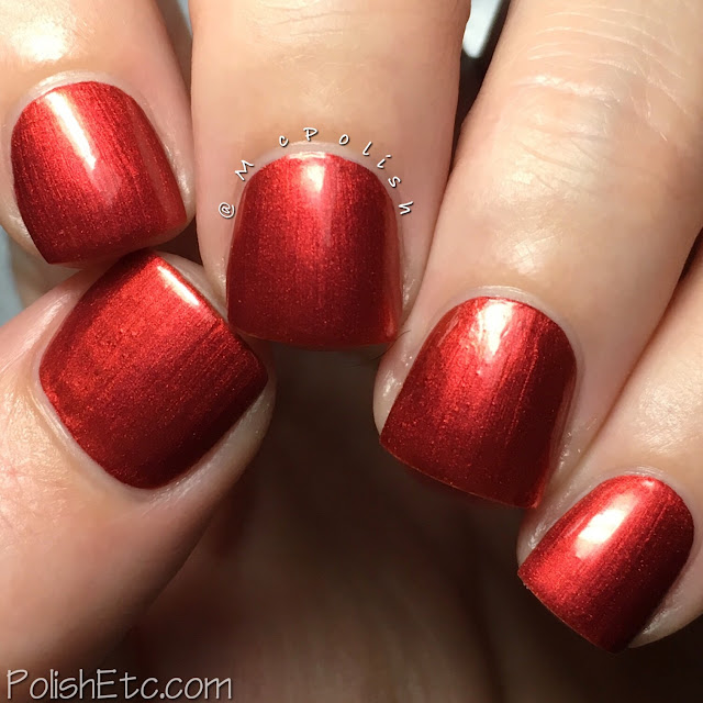 Nine Zero Lacquer - Men of Letters Collection - McPolish - The King of Hell