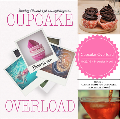 Reading Lark After Dark: Cover Reveal: Cupcake Overload by Bethany Lopez