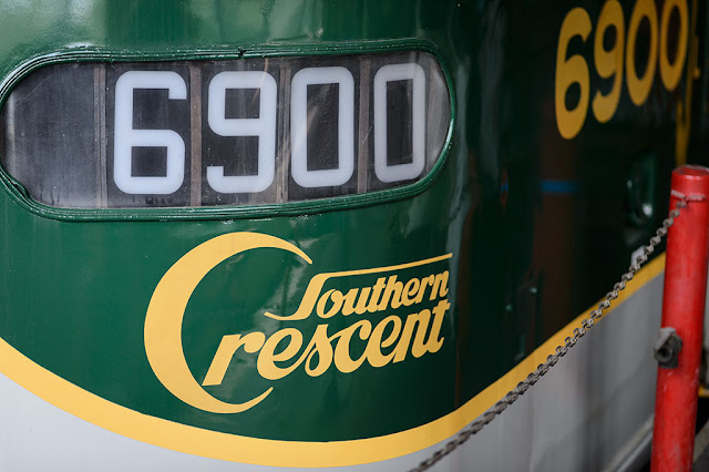 Southern Crescent 6900 at the NC Transportation Museum