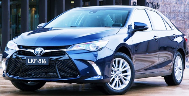 2015 Toyota Camry Atara SL Review Test Drive