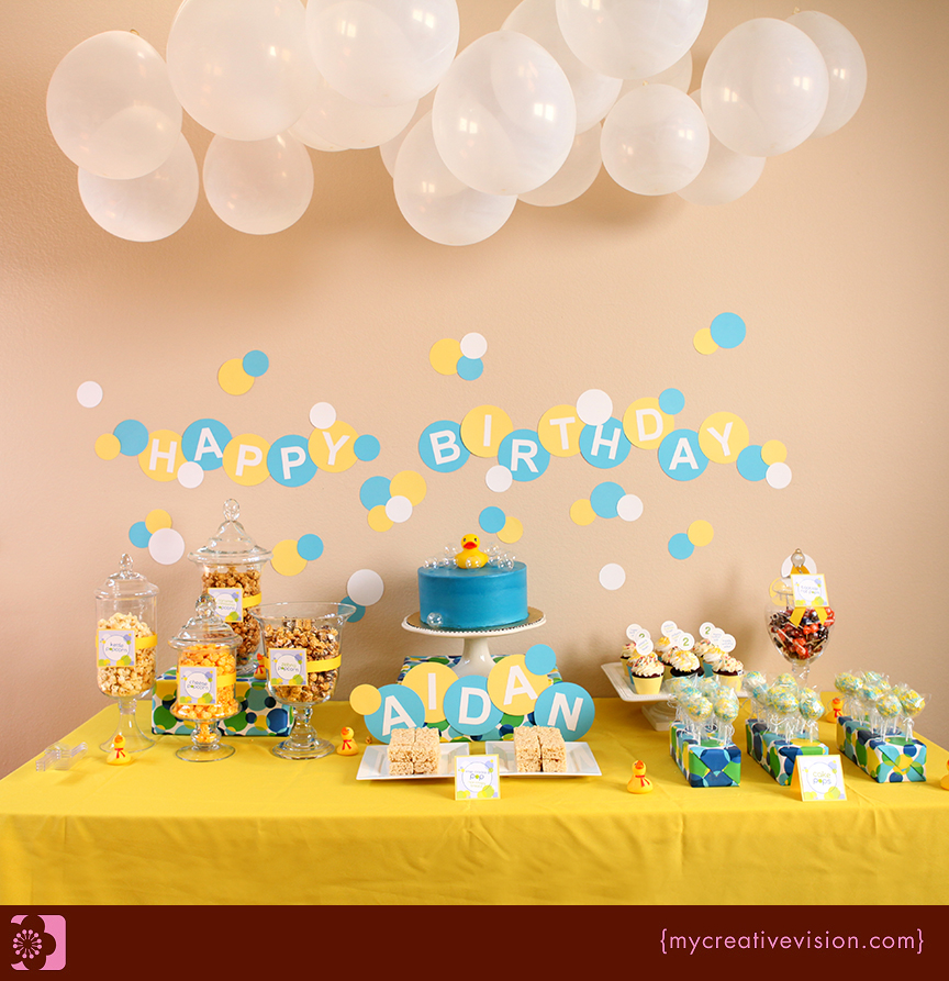 Invitation Parlour Bubble Birthday Party Aidan Turns 2