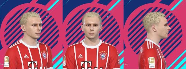 PES 2018 Rafinha (Bayern) Face by kelvinchan327