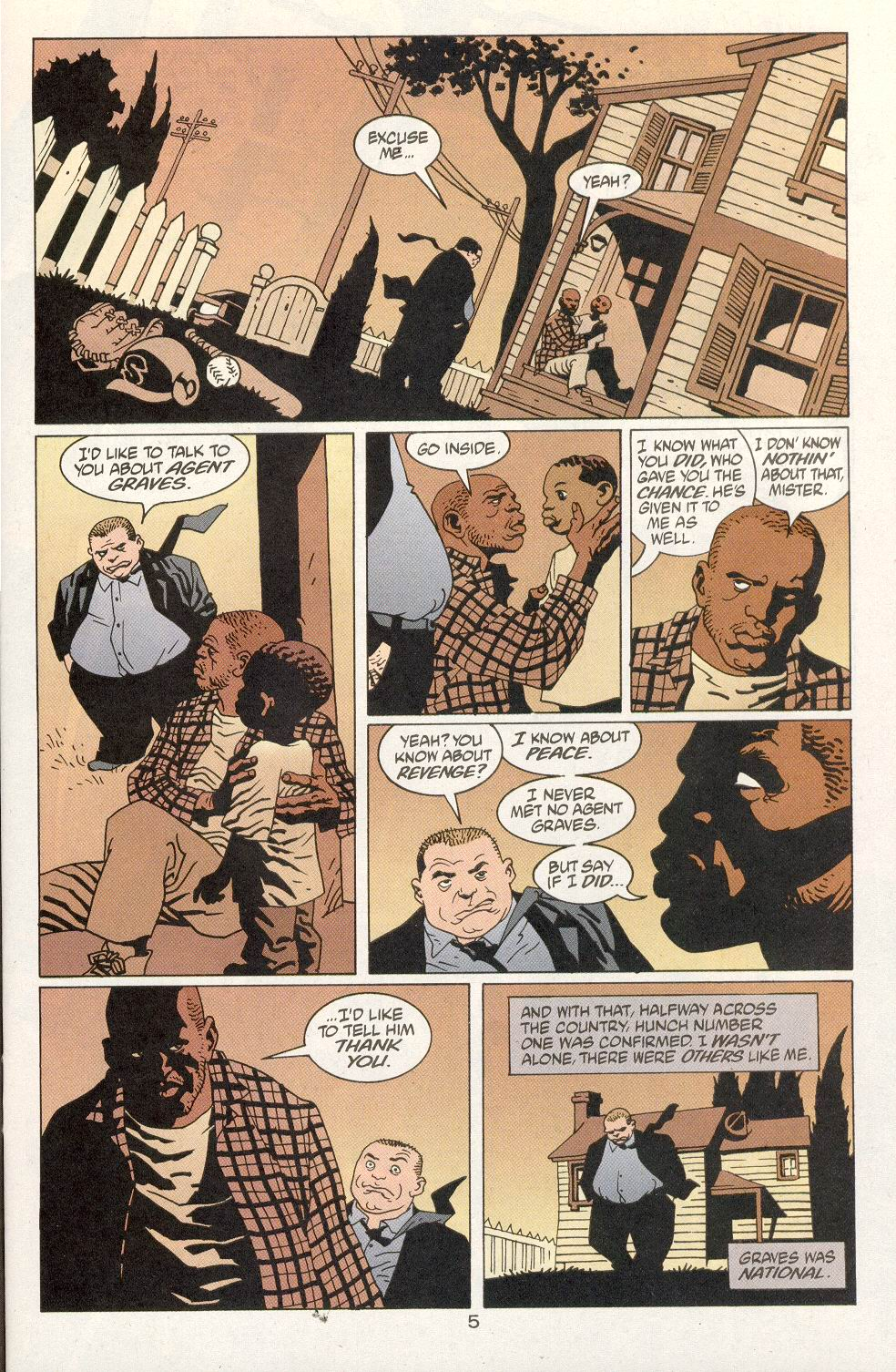 Read online 100 Bullets comic -  Issue #14 - 7